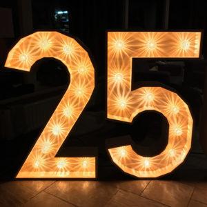 lichtcijfers 25