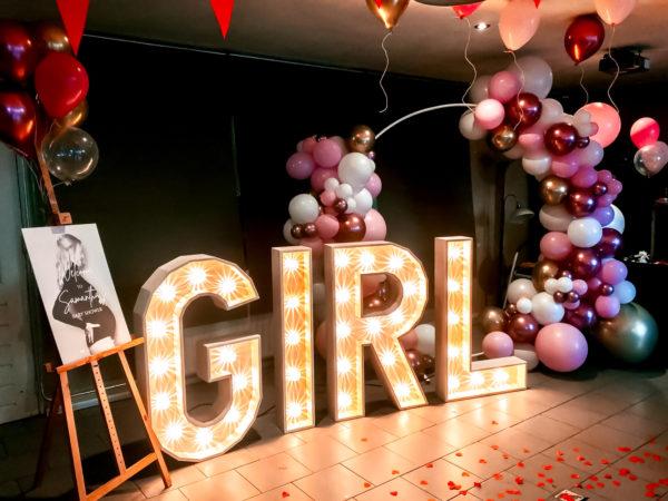 lichtletters set girl